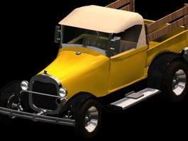1929 Ford Pickup 3d model