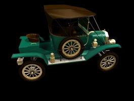 Ford Model T Touring 3d model