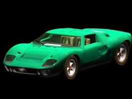 Ford GT40 roadster 3d model