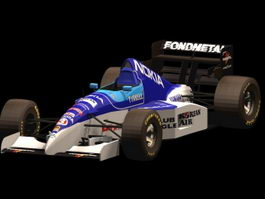 Tyrrell Racing car 3d model