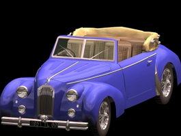 Talbot Type T4 Minor 3d model