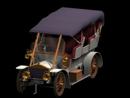 Rolls-Royce Silver Ghost 3d model