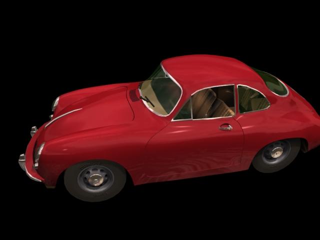модель porsche 356