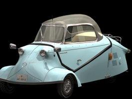 Messerschmitt KR200 Microcar 3d model