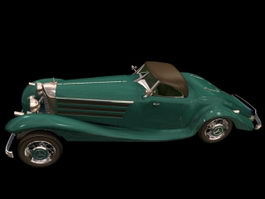Mercedes-Benz 540K cabriolet 3d model
