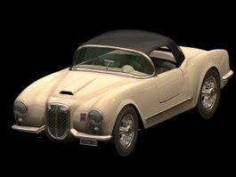 Lancia Aurelia Convertible 3d model