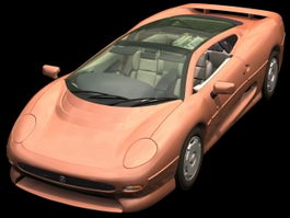 Jaguar XJ220 2-door coupe 3d model