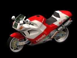 Bimota motorcycle 3d model