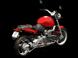 BMW R1100RS motorcycle 3d model