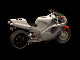 Honda NR Racing motorcycle 3d model