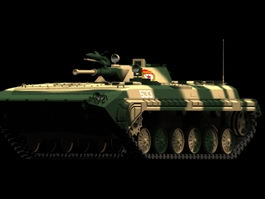 BMP-1 infantry fighting vehicle 3d model