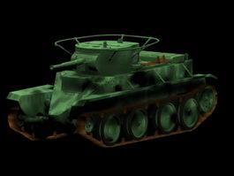 BT-5 tank 3d model
