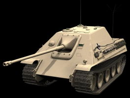 Jagdpanther Tank destroyer 3d model