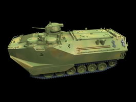 Assault Amphibious Vehicle 3d model