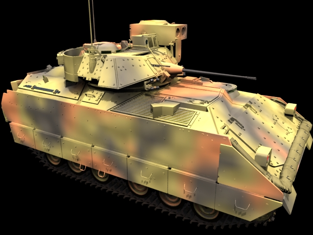 M2a2 Infantry Fighting Vehicle 3d Model 3dsmax Files Free