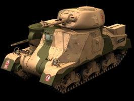 M3 Lee Medium tank 3d model