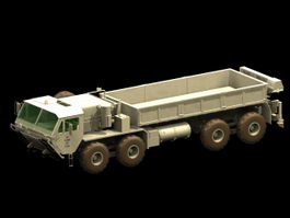 M977 HEMTT 8x8 off-road cargo truck 3d model