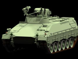 Marder infantry fighting vehicle 3d model