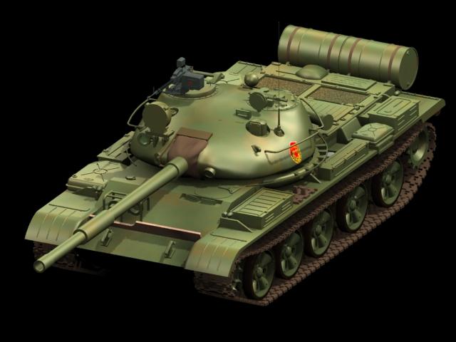T 62 Russian Tank 3d Model 3dsmax Files Free Download
