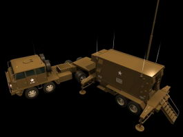 Patriot AN/MSQ-104 engagement control station 3d model