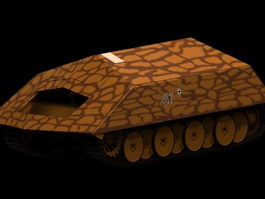 Rammtiger armed vehicle 3d model