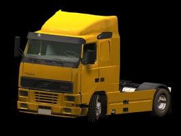 Volvo VN heavy truck 3d model