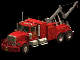 Recovery truck 3d model