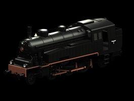 VLC locomotive 3d model