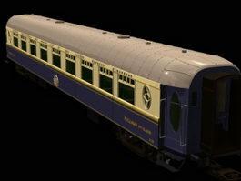 Train coach 3d model