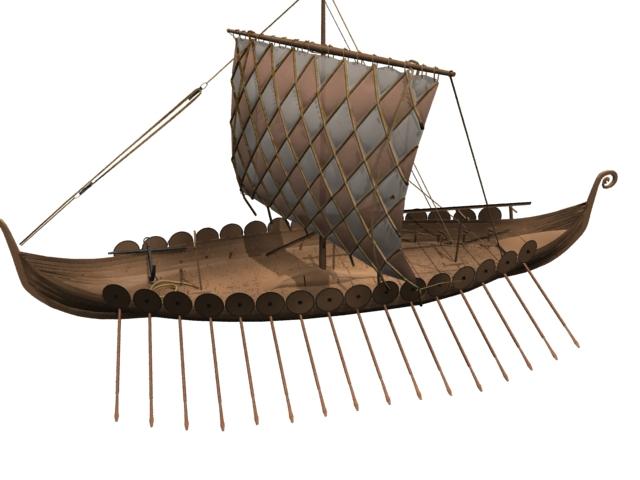 Viking ship 3d model 3dsmax files free download - modeling ...