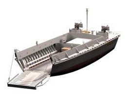 Landing craft 3d model