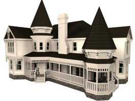 Victorian Architecture 3d Model Free Download Cadnav Com