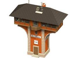 Signal box 3d model