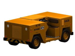 Aircraft towing tractor 3d model