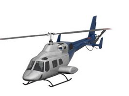Utility helicopter 3d model
