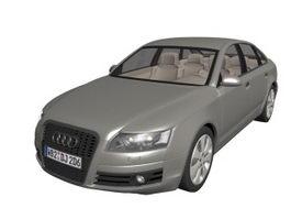 Audi A6 executive car 3d model