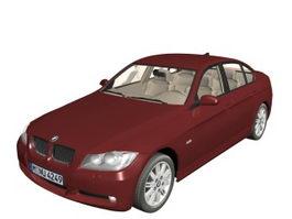 BMW 3 compact executive car 3d model