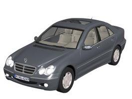 Mercedes-Benz C-Class sedan 3d model
