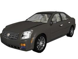Cadillac CTS sports sedan 3d model