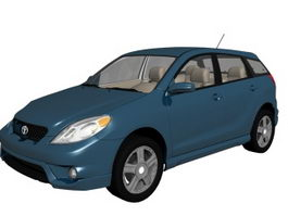 Toyota Matrix compact car 3d model