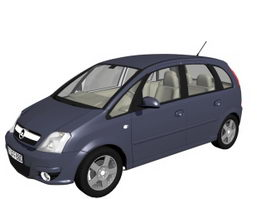 Opel meriva compact MPV 3d model