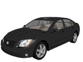 Nissan Maxima luxury car 3d model