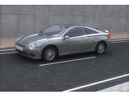 Toyota Celica sports car 3d model