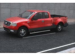 Ford F150 pickup truck 3d model