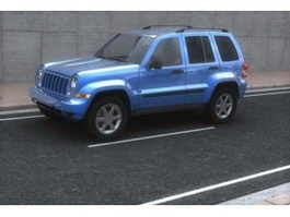 Jeep Liberty compact SUV 3d model