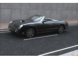 Ford Thunderbird personal luxury car 3d model