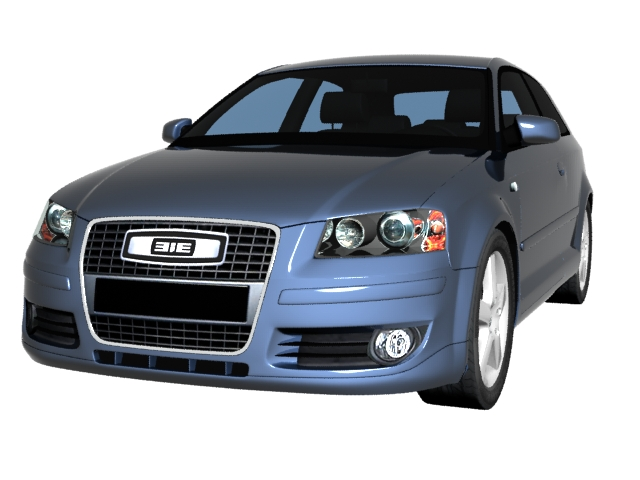 Audi A Compact Car D Model Dsmax Files Free Download Modeling - Audi car 3d image
