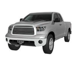 Toyota Tundra pickup truck 3d model