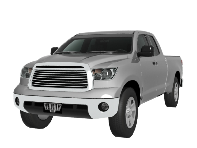 toyota tundra 3d model. Black Bedroom Furniture Sets. Home Design Ideas