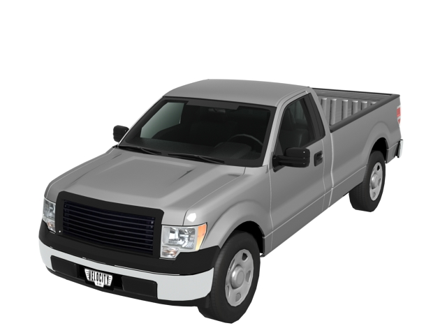 Ford F  Pickup Truck D Model